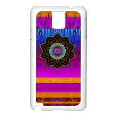 Air And Stars Global With Some Guitars Pop Art Samsung Galaxy Note 3 N9005 Case (white) by pepitasart
