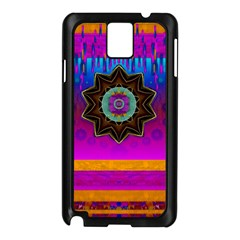 Air And Stars Global With Some Guitars Pop Art Samsung Galaxy Note 3 N9005 Case (black) by pepitasart