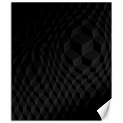 Black Pattern Dark Texture Background Canvas 20  X 24
