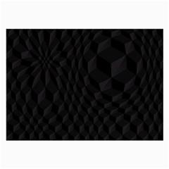 Black Pattern Dark Texture Background Large Glasses Cloth