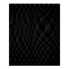 Black Pattern Dark Texture Background Shower Curtain 60  X 72  (medium)