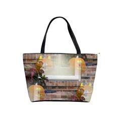 Ghostly Floating Pumpkins Shoulder Handbags by canvasngiftshop