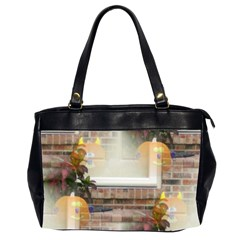Ghostly Floating Pumpkins Office Handbags (2 Sides)  by canvasngiftshop