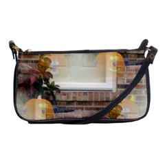 Ghostly Floating Pumpkins Shoulder Clutch Bags by canvasngiftshop
