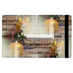 Ghostly Floating Pumpkins Apple Ipad 3/4 Flip Case by canvasngiftshop