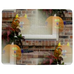 Ghostly Floating Pumpkins Jigsaw Puzzle Photo Stand (rectangular) by canvasngiftshop