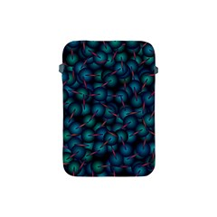 Background Abstract Textile Design Apple Ipad Mini Protective Soft Cases by Nexatart