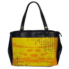 Texture Yellow Abstract Background Office Handbags by Nexatart