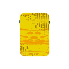 Texture Yellow Abstract Background Apple Ipad Mini Protective Soft Cases