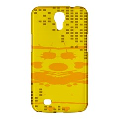 Texture Yellow Abstract Background Samsung Galaxy Mega 6 3  I9200 Hardshell Case by Nexatart