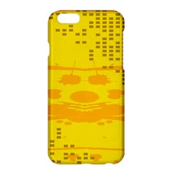 Texture Yellow Abstract Background Apple Iphone 6 Plus/6s Plus Hardshell Case