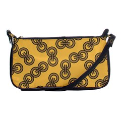 Abstract Shapes Links Design Shoulder Clutch Bags by Nexatart