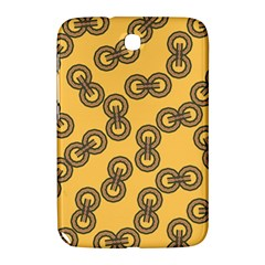 Abstract Shapes Links Design Samsung Galaxy Note 8 0 N5100 Hardshell Case  by Nexatart