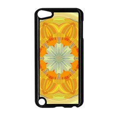 Sunshine Sunny Sun Abstract Yellow Apple Ipod Touch 5 Case (black)