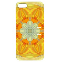 Sunshine Sunny Sun Abstract Yellow Apple Iphone 5 Hardshell Case With Stand by Nexatart