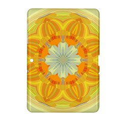 Sunshine Sunny Sun Abstract Yellow Samsung Galaxy Tab 2 (10 1 ) P5100 Hardshell Case