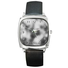 Puzzle Grey Puzzle Piece Drawing Square Metal Watch