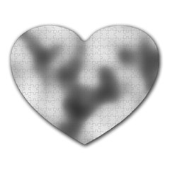 Puzzle Grey Puzzle Piece Drawing Heart Mousepads by Nexatart