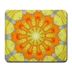 Sunshine Sunny Sun Abstract Yellow Large Mousepads