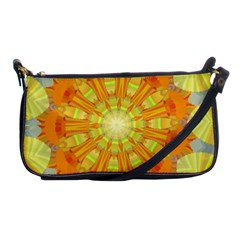 Sunshine Sunny Sun Abstract Yellow Shoulder Clutch Bags by Nexatart