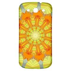 Sunshine Sunny Sun Abstract Yellow Samsung Galaxy S3 S Iii Classic Hardshell Back Case by Nexatart