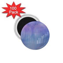 Business Background Blue Corporate 1 75  Magnets (100 Pack)  by Nexatart