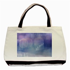 Business Background Blue Corporate Basic Tote Bag by Nexatart