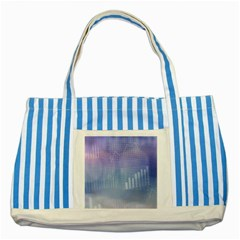 Business Background Blue Corporate Striped Blue Tote Bag by Nexatart