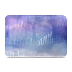 Business Background Blue Corporate Plate Mats by Nexatart