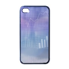 Business Background Blue Corporate Apple Iphone 4 Case (black) by Nexatart