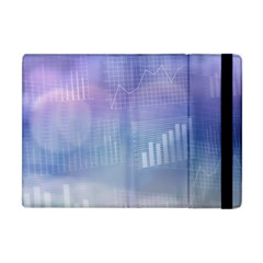 Business Background Blue Corporate Apple Ipad Mini Flip Case