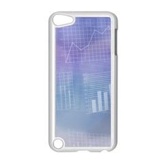 Business Background Blue Corporate Apple Ipod Touch 5 Case (white) by Nexatart