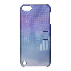 Business Background Blue Corporate Apple Ipod Touch 5 Hardshell Case With Stand by Nexatart