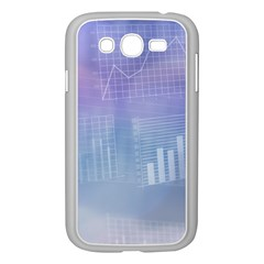 Business Background Blue Corporate Samsung Galaxy Grand Duos I9082 Case (white) by Nexatart