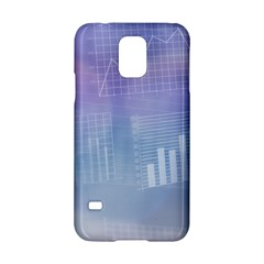 Business Background Blue Corporate Samsung Galaxy S5 Hardshell Case  by Nexatart
