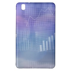 Business Background Blue Corporate Samsung Galaxy Tab Pro 8 4 Hardshell Case by Nexatart