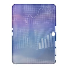 Business Background Blue Corporate Samsung Galaxy Tab 4 (10 1 ) Hardshell Case