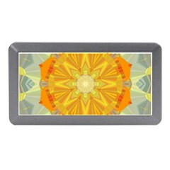 Sunshine Sunny Sun Abstract Yellow Memory Card Reader (mini)