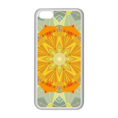 Sunshine Sunny Sun Abstract Yellow Apple Iphone 5c Seamless Case (white)