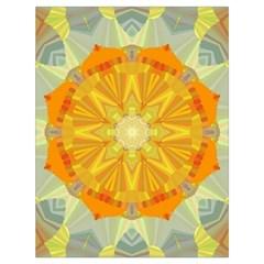 Sunshine Sunny Sun Abstract Yellow Drawstring Bag (large) by Nexatart