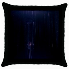 Abstract Dark Stylish Background Throw Pillow Case (black) by Nexatart