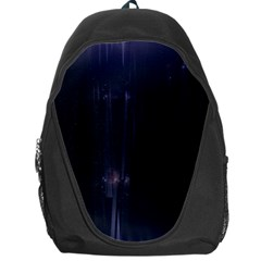 Abstract Dark Stylish Background Backpack Bag