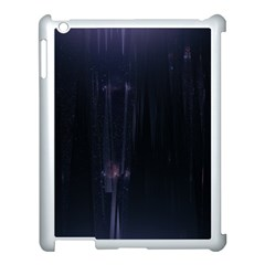 Abstract Dark Stylish Background Apple Ipad 3/4 Case (white)