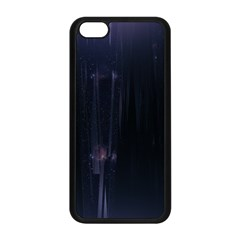 Abstract Dark Stylish Background Apple Iphone 5c Seamless Case (black) by Nexatart