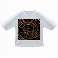 Strudel Spiral Eddy Background Infant/toddler T Shirts