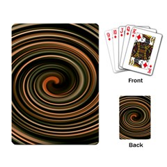 Strudel Spiral Eddy Background Playing Card by Nexatart