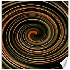 Strudel Spiral Eddy Background Canvas 16  X 16