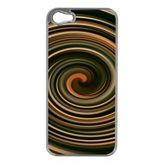 Strudel Spiral Eddy Background Apple Iphone 5 Case (silver)