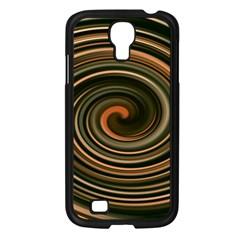 Strudel Spiral Eddy Background Samsung Galaxy S4 I9500/ I9505 Case (black)