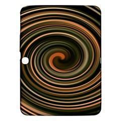 Strudel Spiral Eddy Background Samsung Galaxy Tab 3 (10 1 ) P5200 Hardshell Case